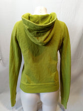 Load image into Gallery viewer, Hollister Hoodie Women's Green Long Sleeve Spell Out Hooded Sweatshirt Size M