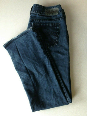 Silver Jeans Women's Size 28/30 Suki Low Rise Boot Cut Stretch Denim Blue Jeans