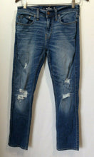 Load image into Gallery viewer, Hollister Women's Size 28/30 Skinny Fit Advanced Stretch High Rise Ripped Jeans