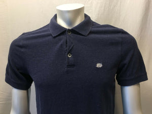 Banana Republic Men's Blue Logo Short Sleeve Polo Shirt Size Medium