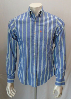 Vintage Abercrombie and Fitch Muscle Striped L/S Button up Men's Shirt Size S