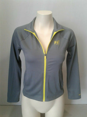 Abercrombie & Fitch Active Girls Full Zip Long Sleeve Track Jacket Size Medium