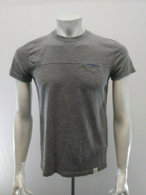 Abercrombie & Fitch Tee Men's Small Gray Short Sleeve Cotton/Poly T Shirt