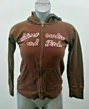 Load image into Gallery viewer, Abercrombie & Fitch Hoodie Women's Medium Fitted Full Zip Hooded Jacket