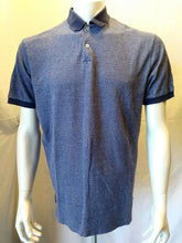 Load image into Gallery viewer, Lauren Ralph Lauren Blue Cotton Cuffed Short Sleeve Men's Polo Shirt Size Large