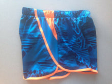 Load image into Gallery viewer, Adidas Shorts Women's Size Small Blue Orange Polyester Running Workout Shorts