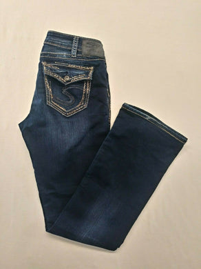 Silver Tuesday Jeans Womens 30/33 Low Rise Boot Cut Super Stretch