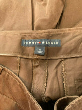 Load image into Gallery viewer, Tommy Hilfiger Women's Size 10 Cotton/Spandex Brown Straight Leg Chino Pants