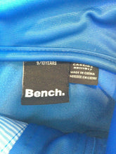 Load image into Gallery viewer, Bench Girls 9/10 Yrs Blue Long Sleeve Polyester Mock Full Zip Track Jacket