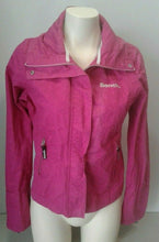 Load image into Gallery viewer, Bench BBQ Women's Pink Long Sleeve Full Zip Mock Neck Jacket Size Large