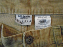 Load image into Gallery viewer, Columbia Women's Beige Straight Leg Mid Rise Corduroy Pants Size 12