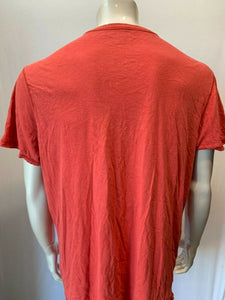 American Eagle Mens XL Red Cotton Graphic T shirt