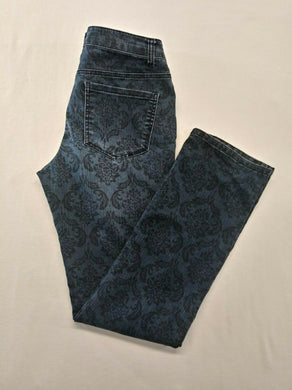 Liverpool Sadie Stretch Womens Size 8/29 Mid Rise Patterned Jeans