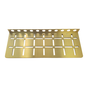 Stainless Steel Shower Shelf, Wall (Brushed Brass)