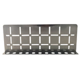 Stainless Steel Shower Shelf, Wall (Brushed Black Chrome)