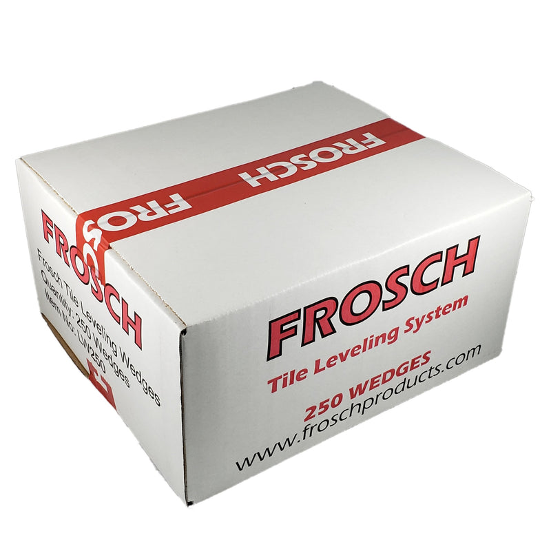 FROSCH Tile Leveling System - Reusable Wedges [BOX of 1500pcs]