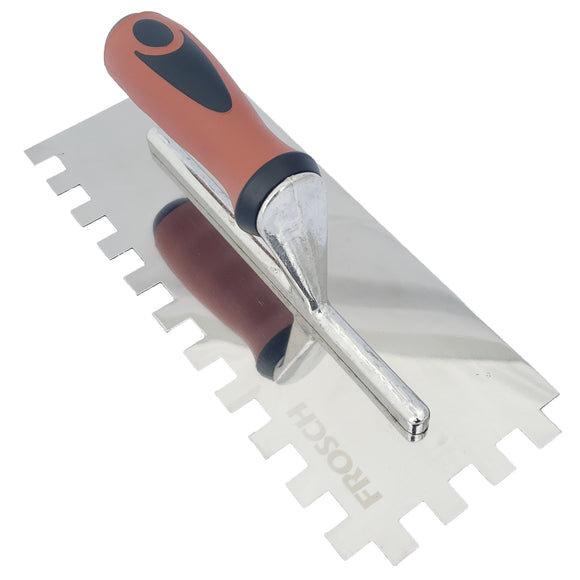 Stainless Steel Square Notch Trowel - 1/2