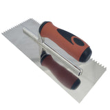 Stainless Steel V-Notch Trowel - 1/4""
