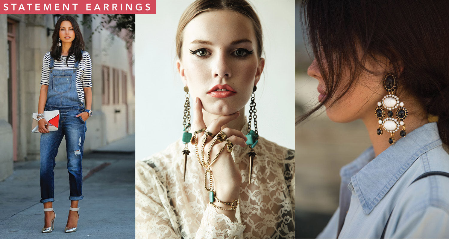 Spring 2015 Earring Trends