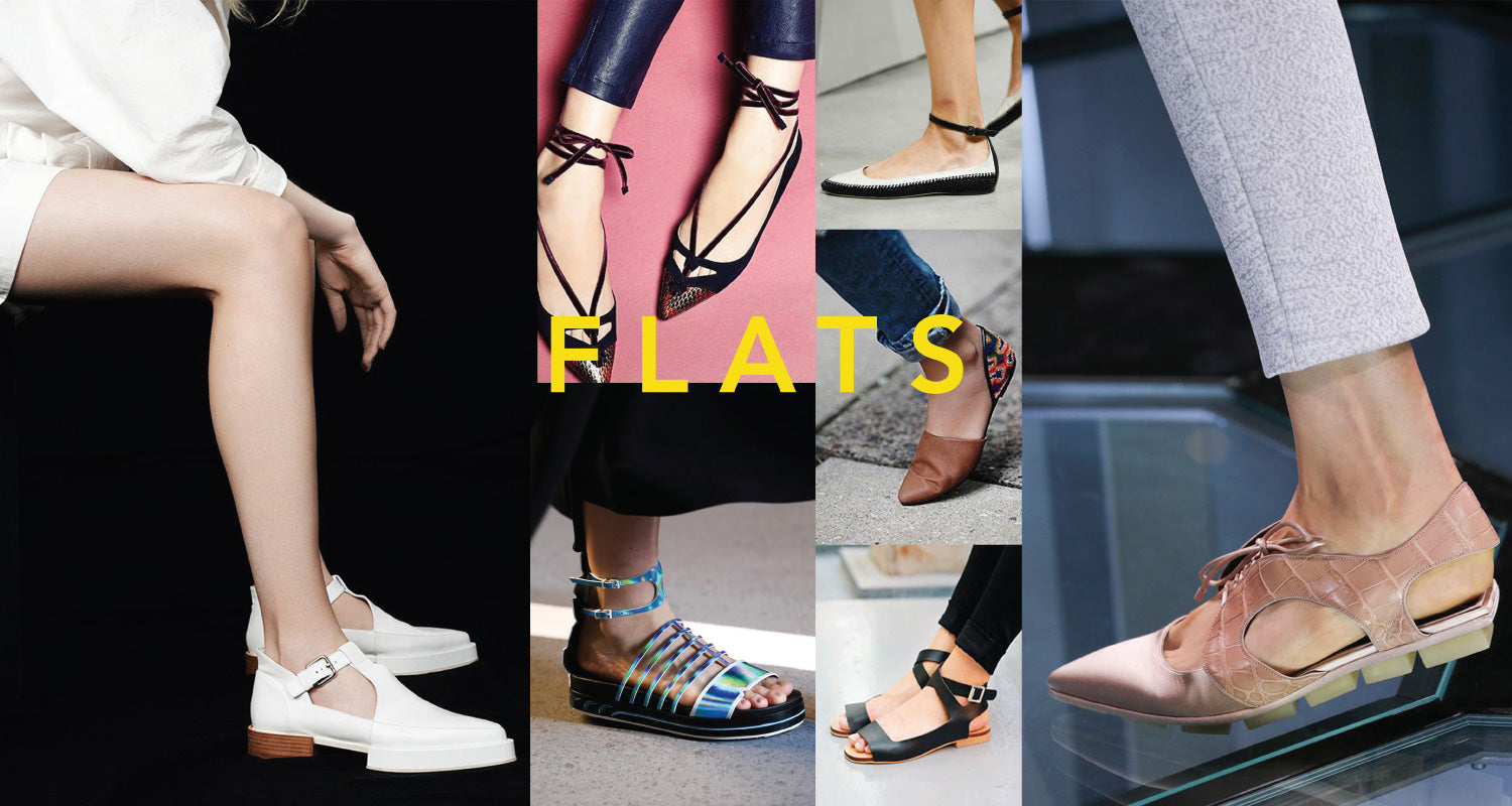 spring 2015 flat shoe trends