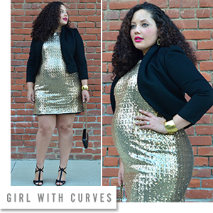 MYNT 1792 Plus Size Sequin Dress
