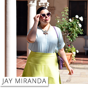 Plus Size Spring Ensemble by Jay Miranda