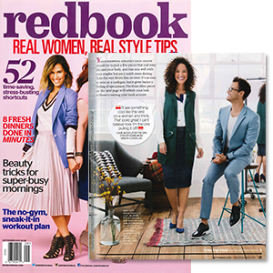 MYNT 1792 Plus Size Long Sleeve Blouse featured in Redbook Magazine