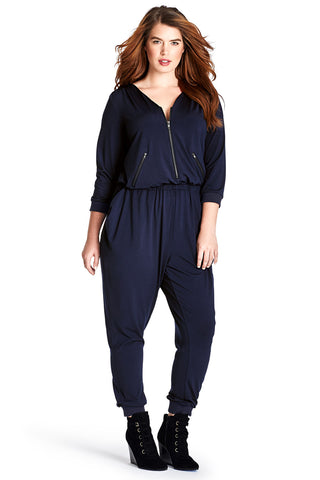 MYNT 1792 BLACK IRIS FLIGHT JUMPSUIT