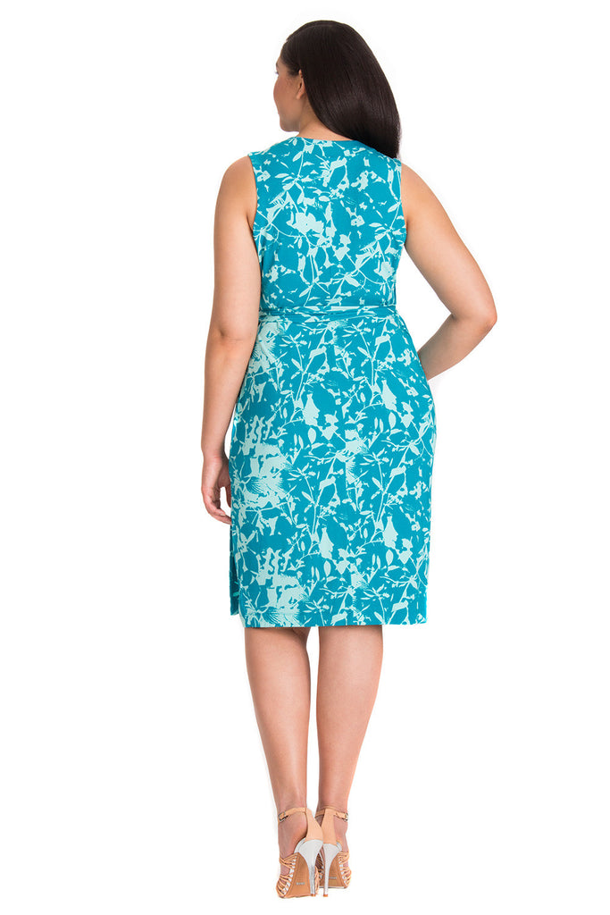 MYNT 1792 Floral Wrap Dress