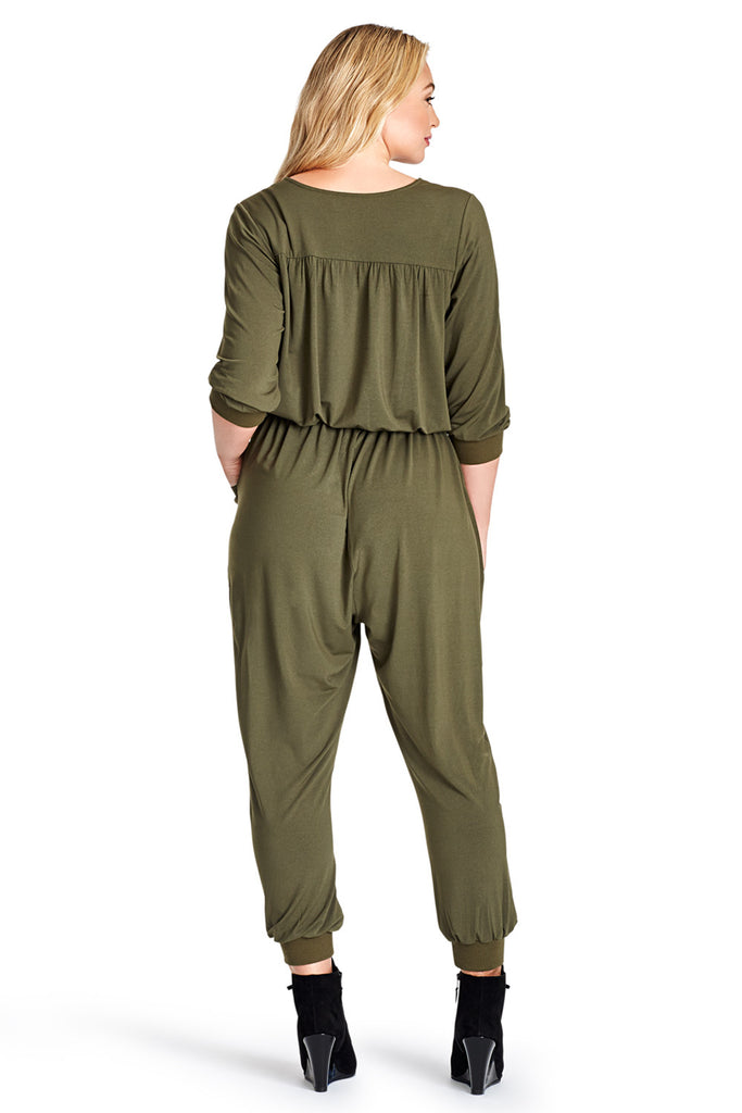 MYNT 1792 GRAPE LEAF FLIGHT JUMPSUIT