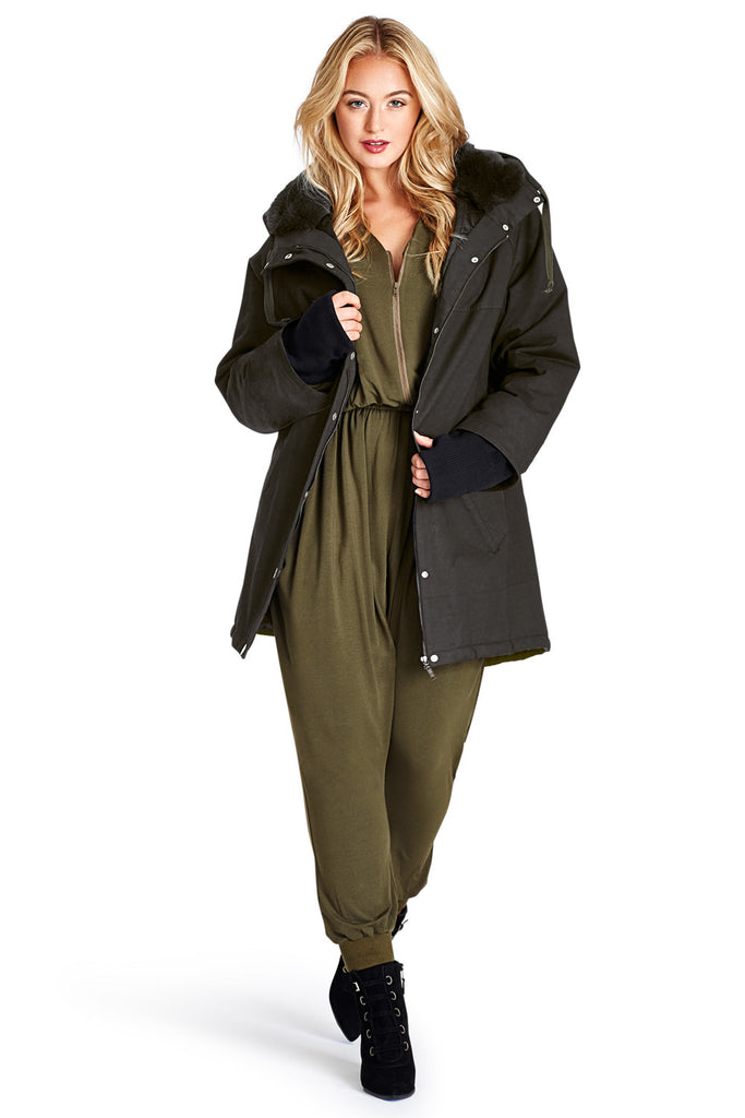 Military Batwing Jacket