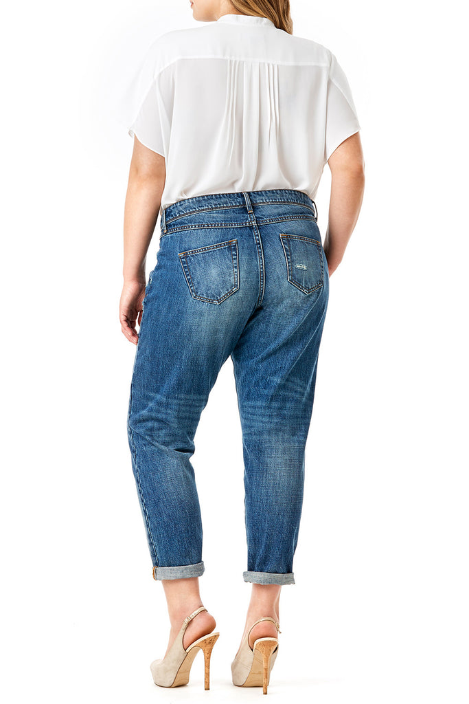 MYNT 1792 -Destructed Boyfriend Jean