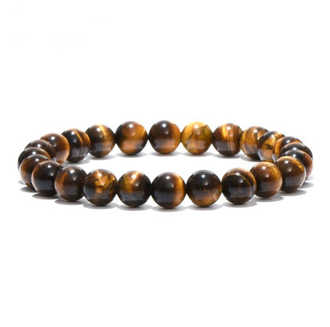 Classic Natural Stone Beads Bracelet