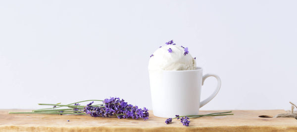 Chef Dan Olson's Lavender Earl Grey Ice Cream