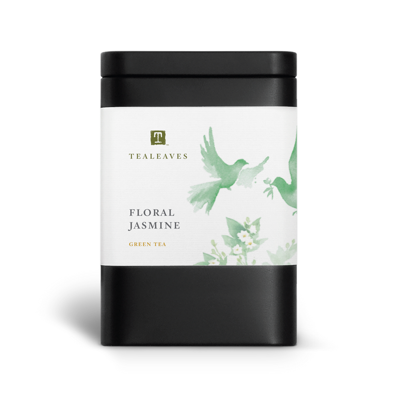 Floral Jasmine Loose Leaf Green Tea