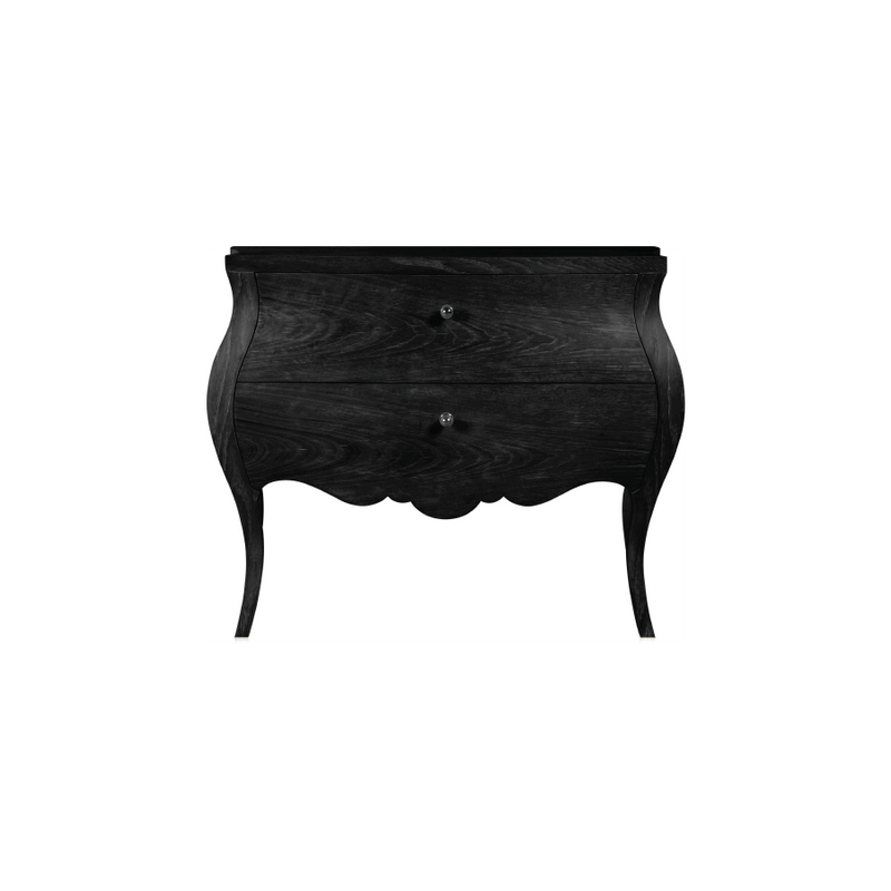 Buy Black Louis XV Sidetable Online | Best Home Furnishing