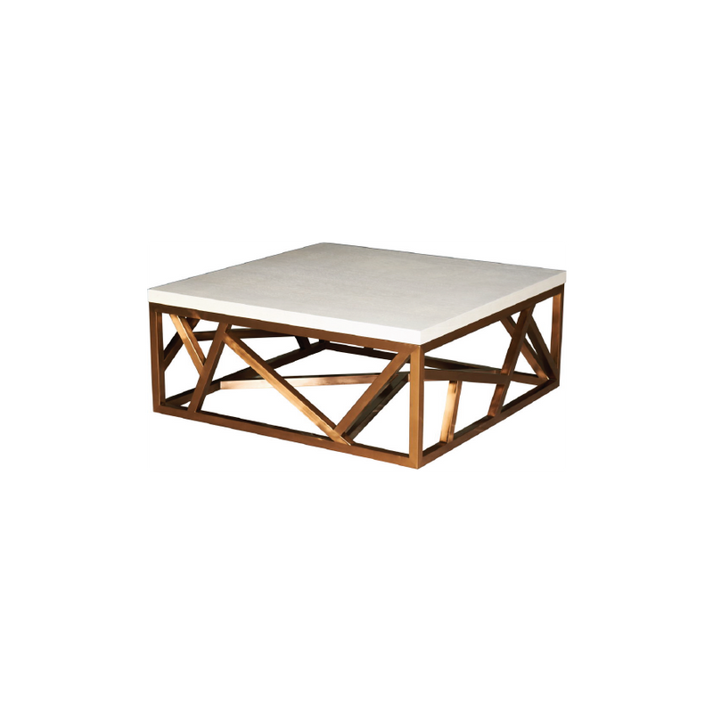 Petras Gold Coffee Table.