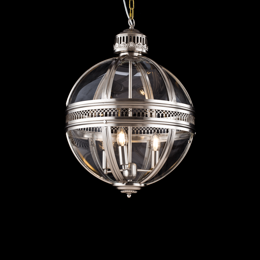 Buy Nickel Pendant Medieval Chandelier | Home Furnishing