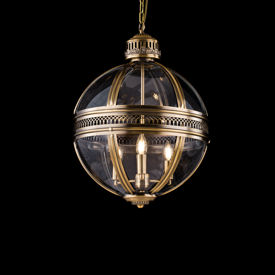 Buy Bronze Pendant Medieval Chandelier | Home Furnishing