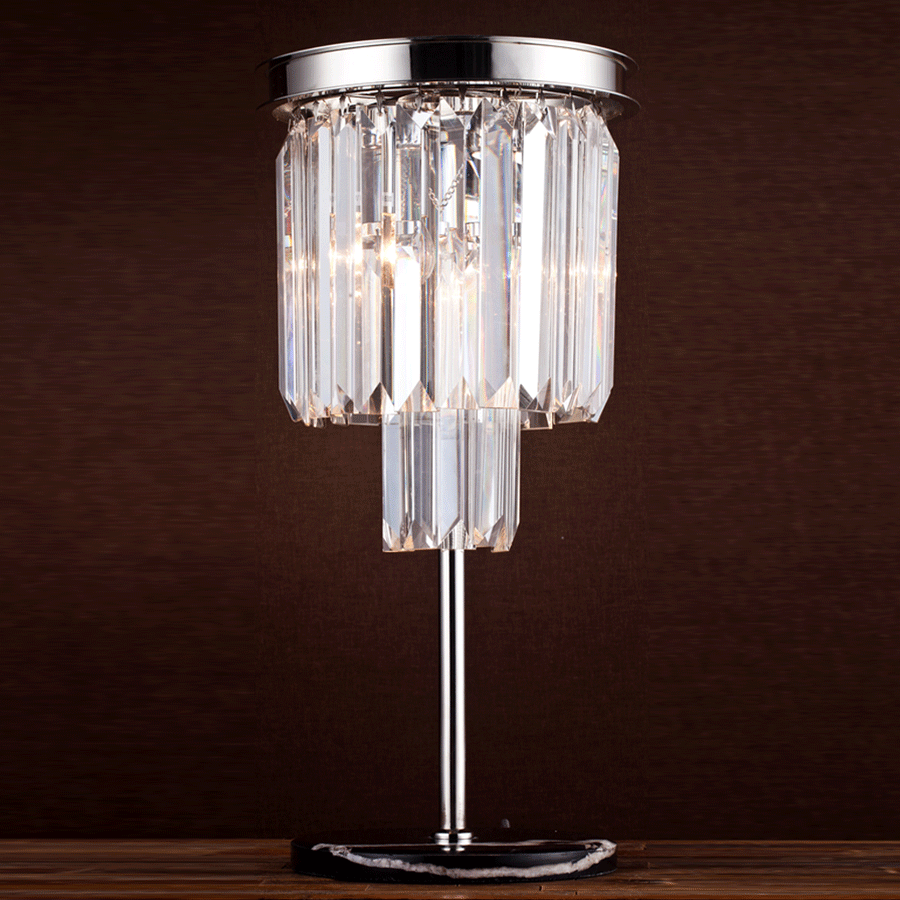 Buy Crystal Table Lamp Online | Home Furnishing in Pakistan
