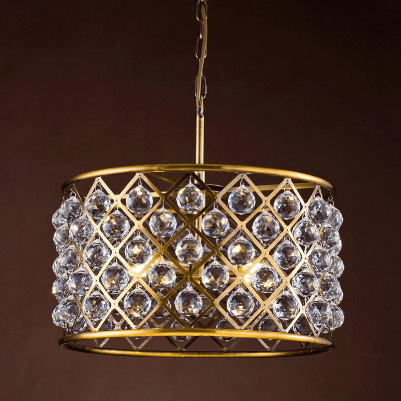 Shop Crystal Checks Chandelier Online | Home Furnishing