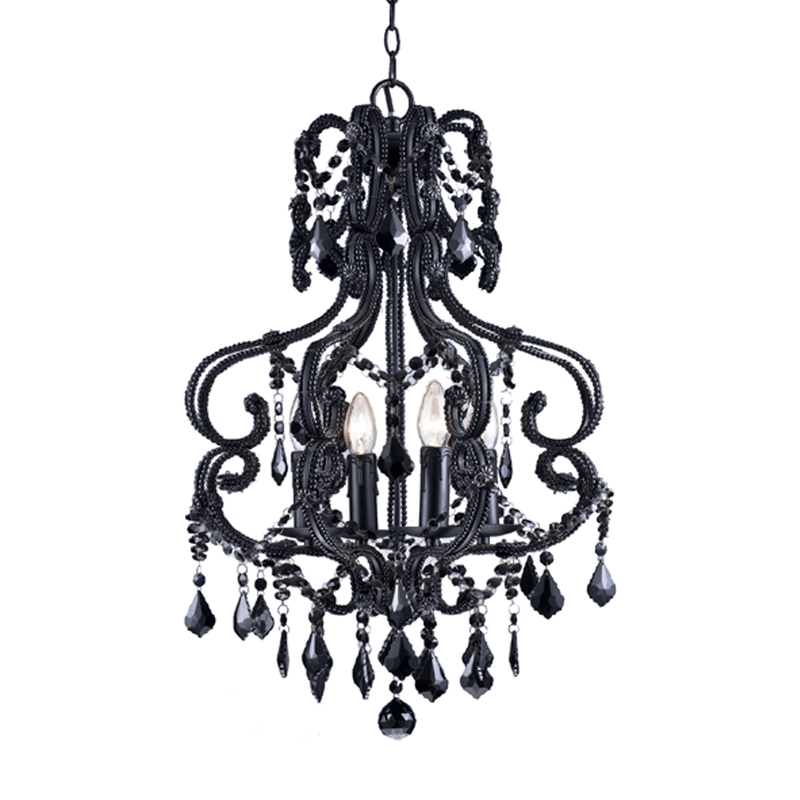 Black French Chandelier