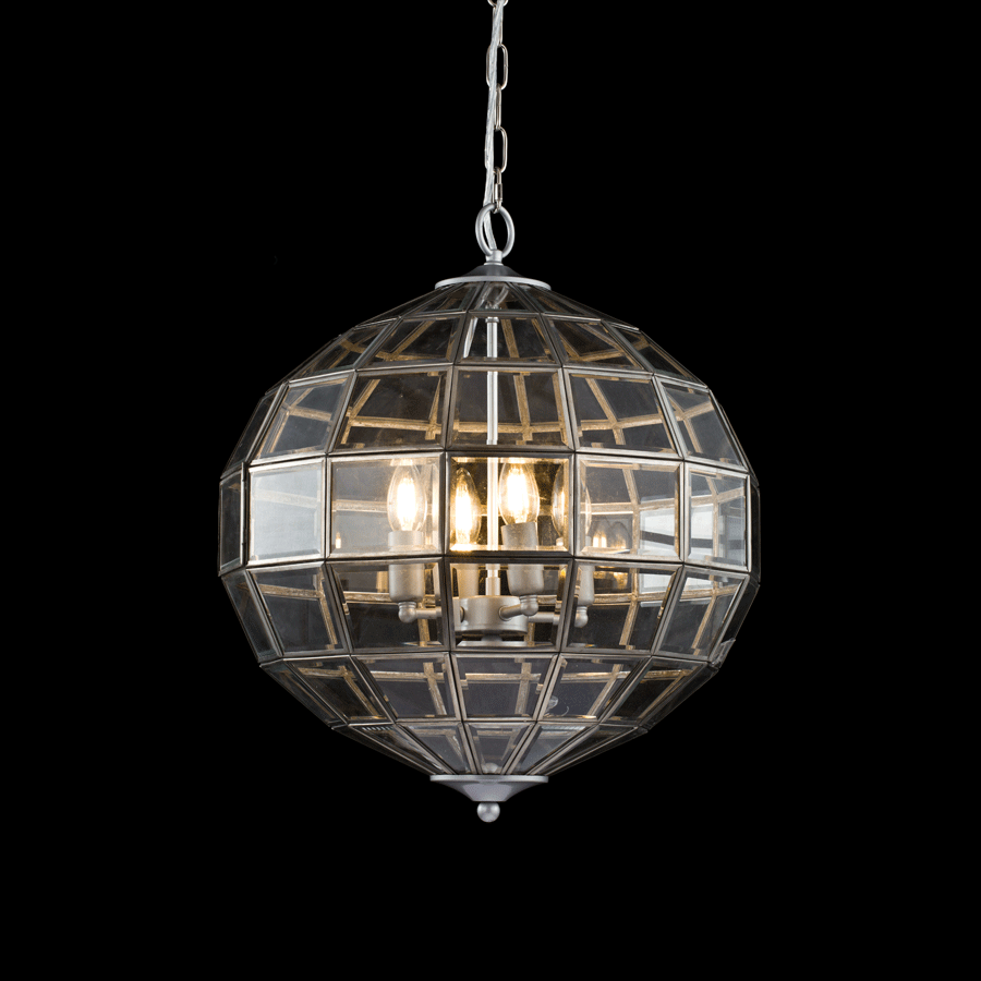 Window Globe Chandelier
