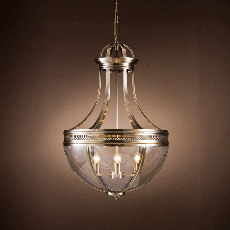 Buy Dark Brown Teardrop Chandelier Online | Home Furnishing