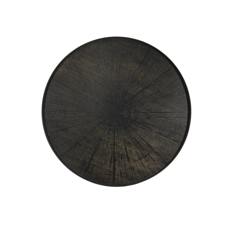 Buy Black Slice Driftwood Tray Online | Home Furnishing