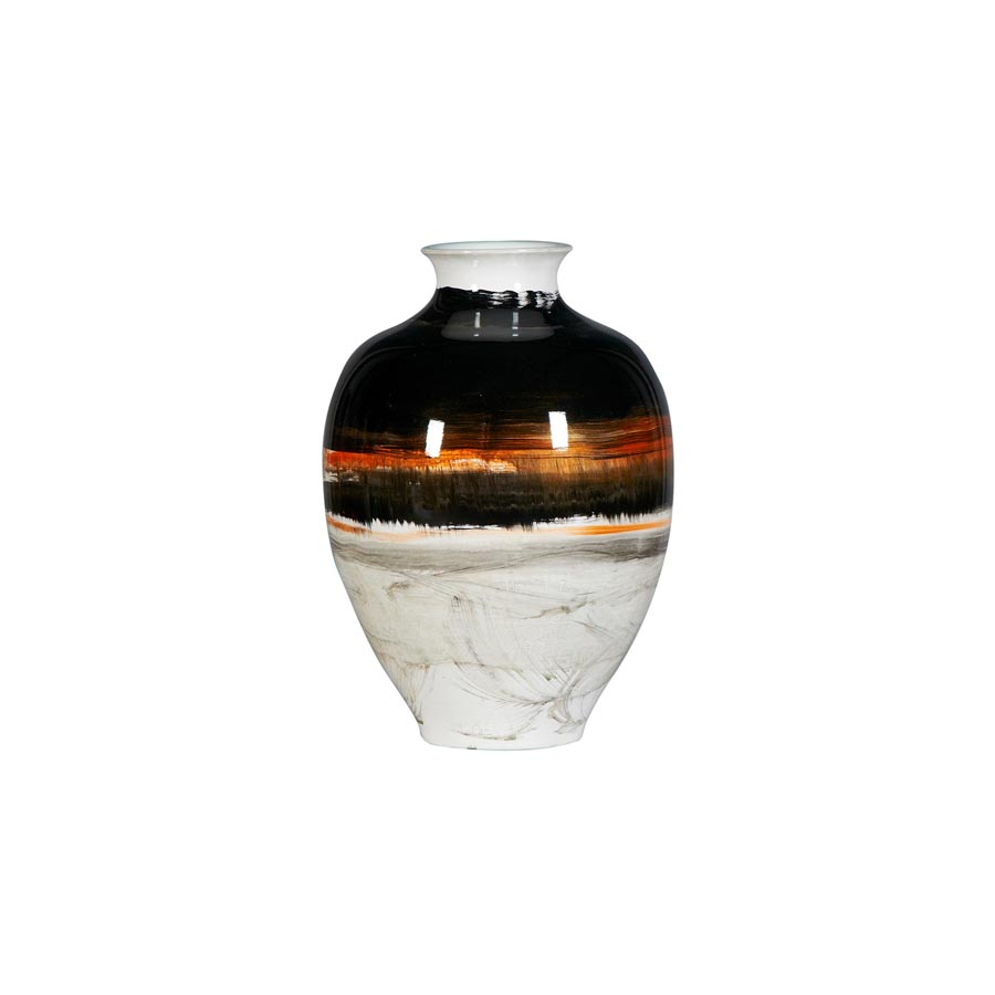 Buy Handpainted porcelain vase: antique | Home Furnishing
