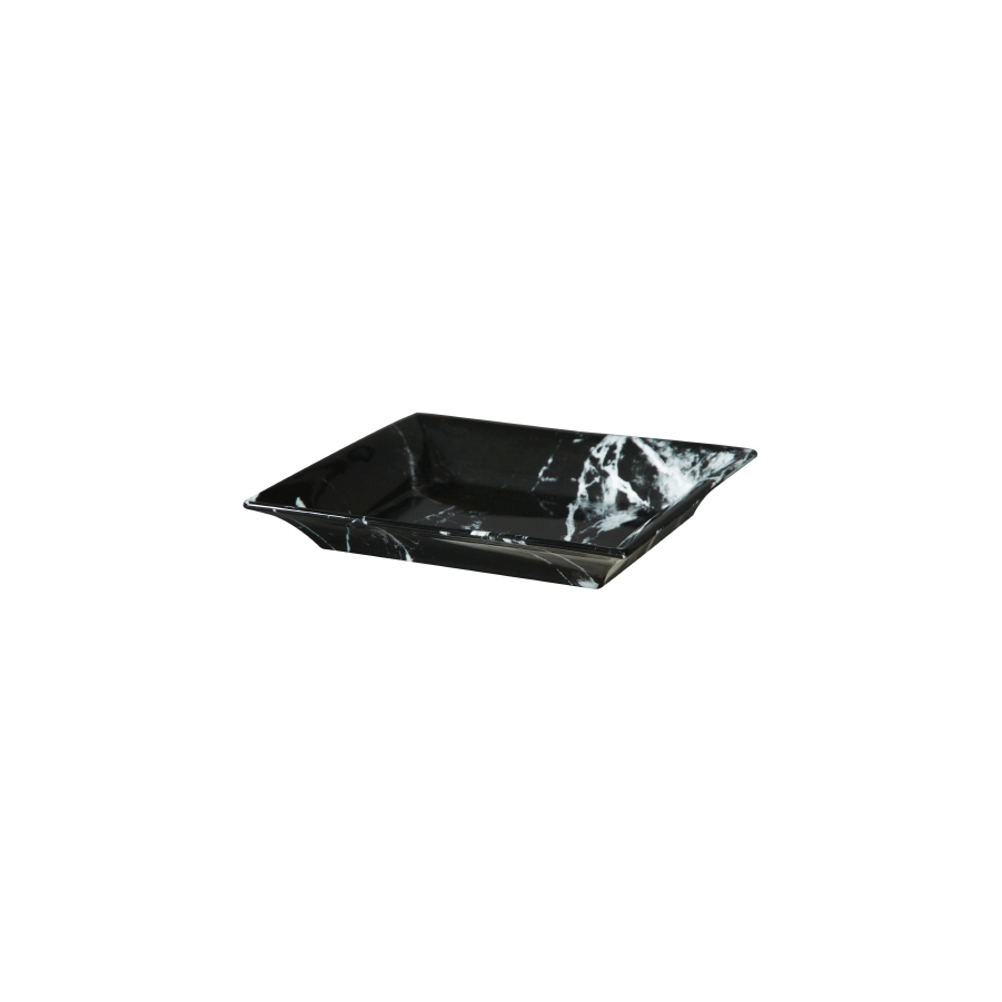 Buy Black Marble Serving Plate Online | Home Furnishing