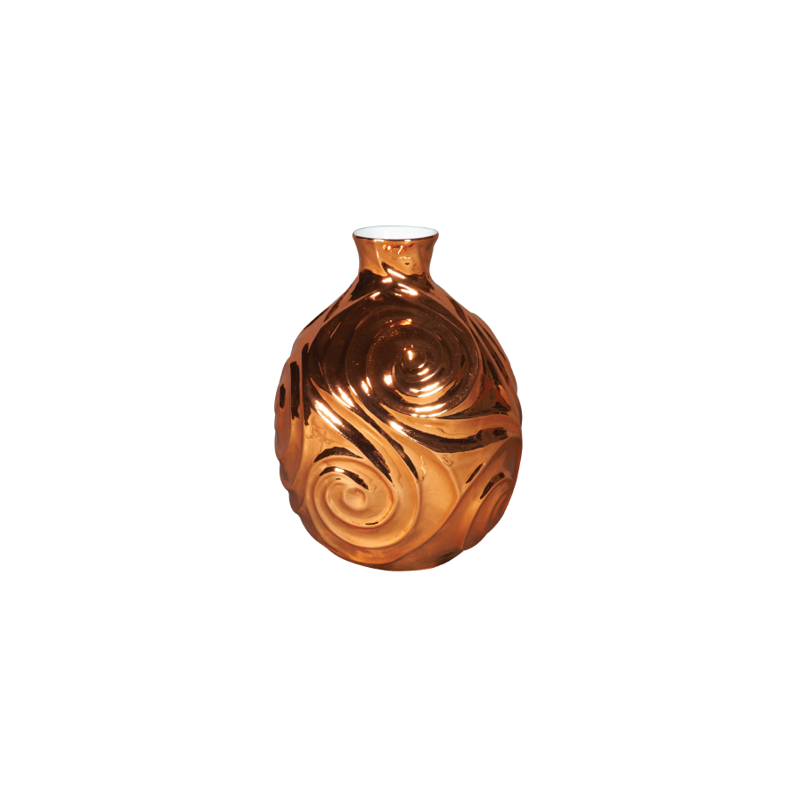 Diamond Carved Sphere Vase