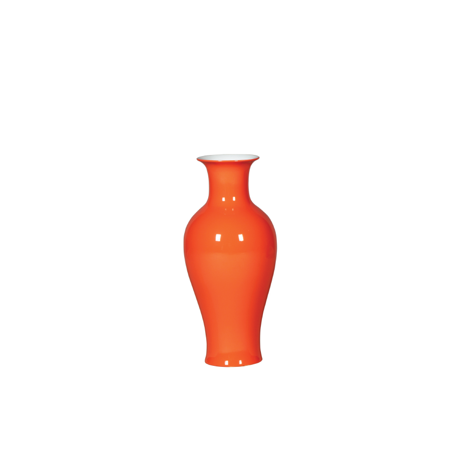 Buy Orange Ceramic Vase Online | Home Furnishing Pakistan