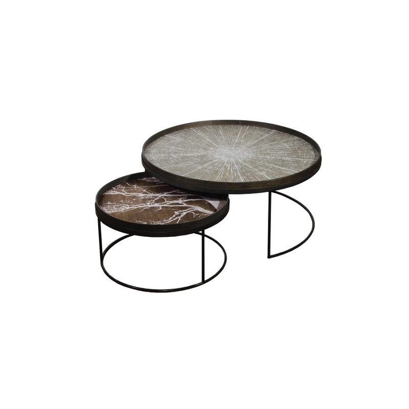 Buy Round Tray Tables Set | Luxury Furniture in Pakistan
